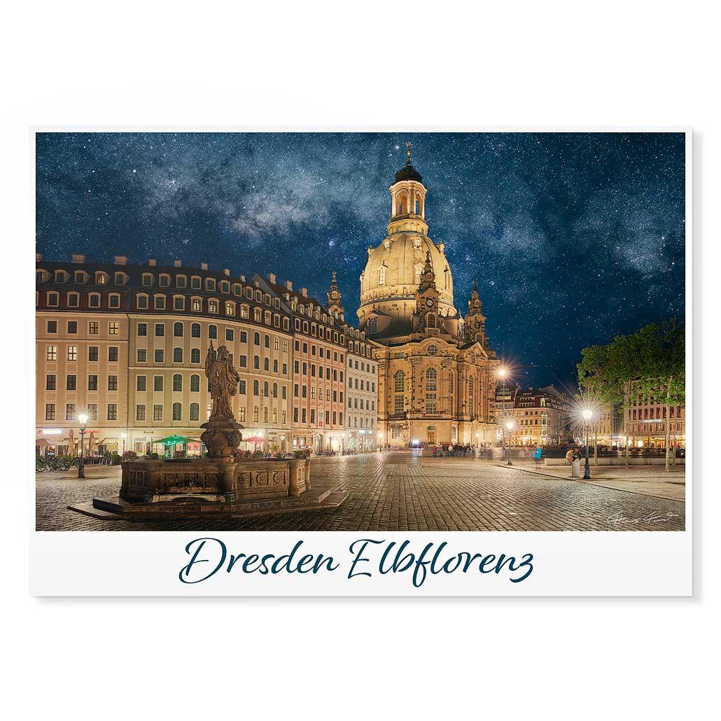 Dresden Postkarte lui035 Hans Fineart