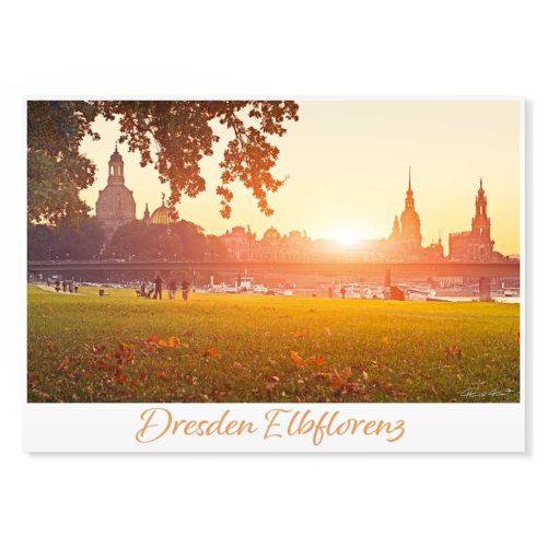 Dresden Postkarte lui036 Hans Fineart
