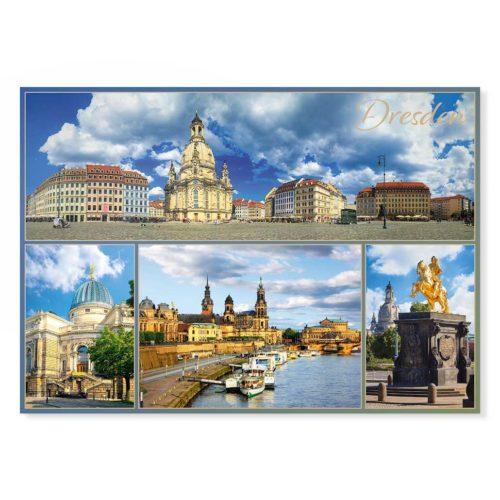 Dresden Postkarte lui038 Hans Fineart