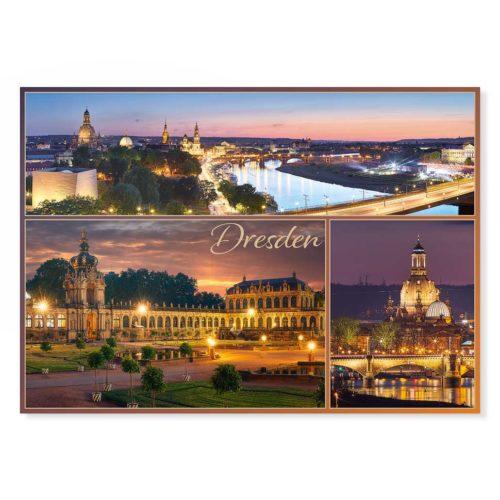 Dresden Postkarte lui039 Hans Fineart