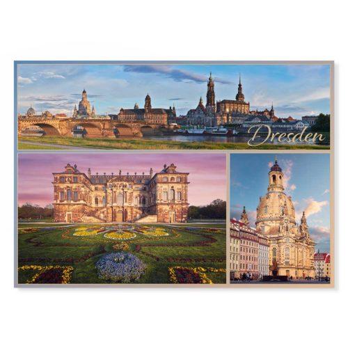 Dresden Postkarte lui040 Hans Fineart