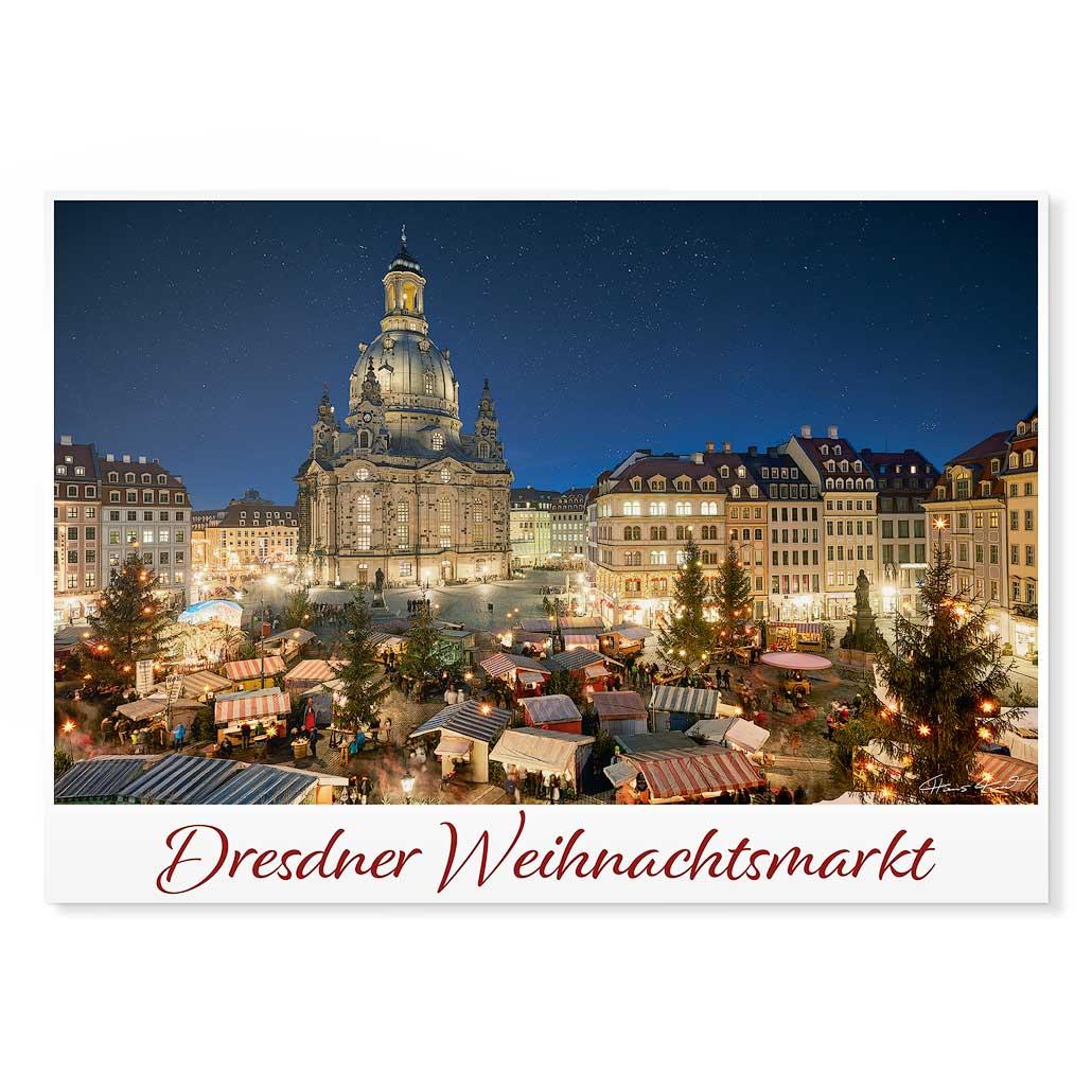 Dresden Postkarte lui041 Hans Fineart