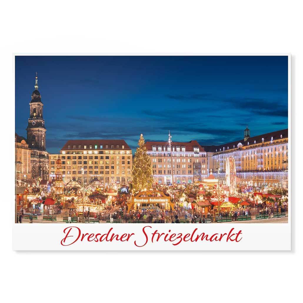 Dresden Postkarte lui042 Hans Fineart