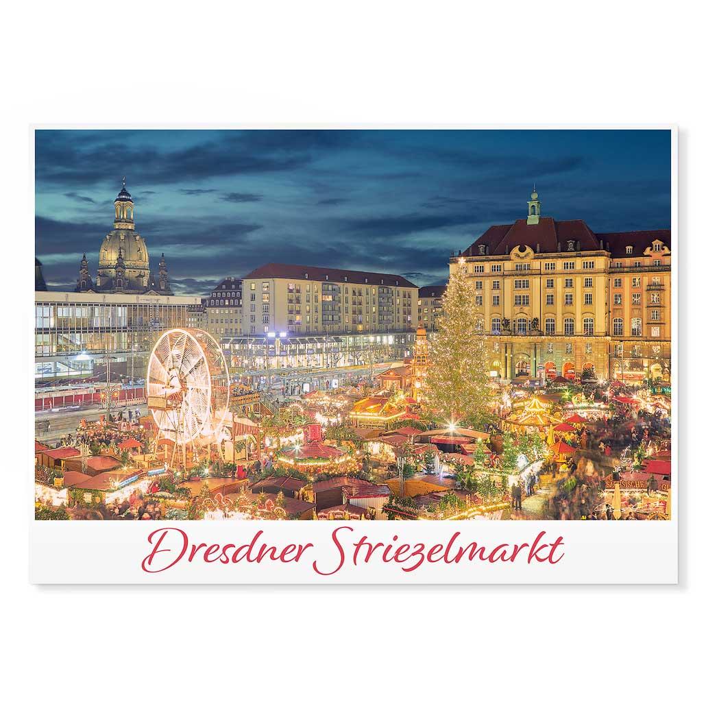 Dresden Postkarte lui043 Hans Fineart