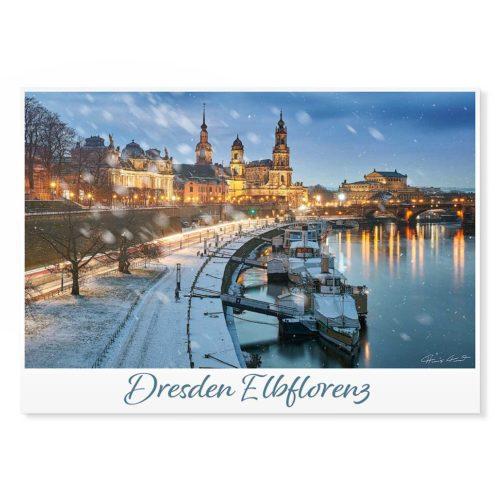 Dresden Postkarte lui045 Hans Fineart