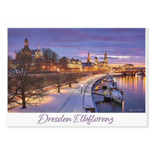 Dresden Postkarte lui046 Hans Fineart