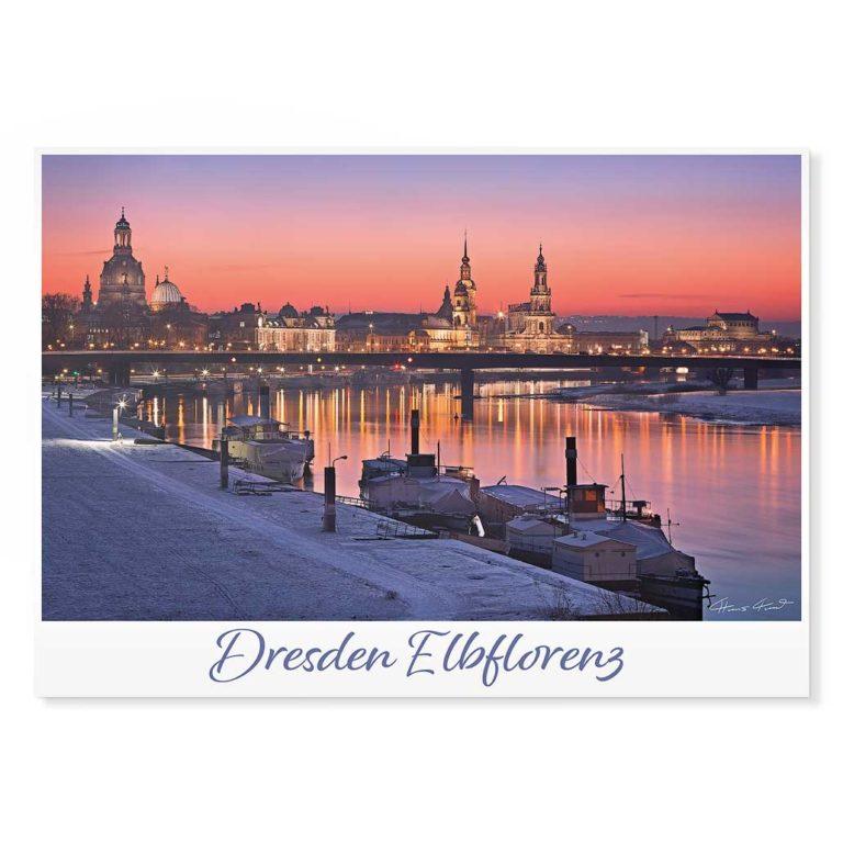 Dresden Postkarte lui048 Hans Fineart