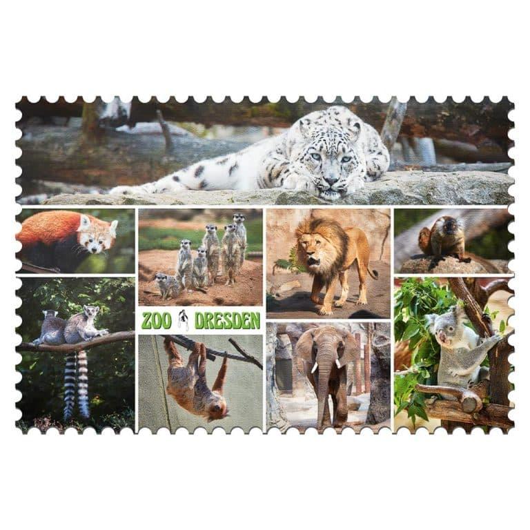 Zoo Dresden Magnet mp002