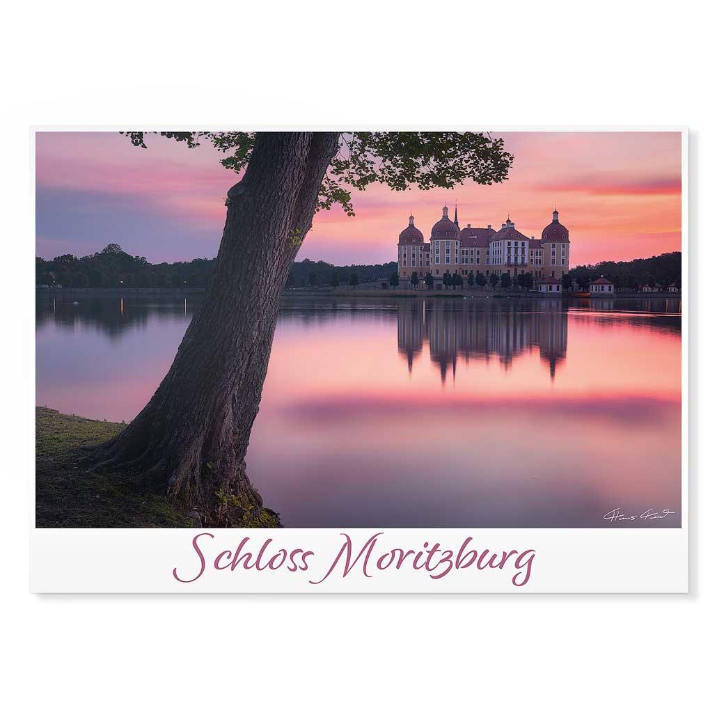 Moritzburg Postkarte cd001 Hans Fineart