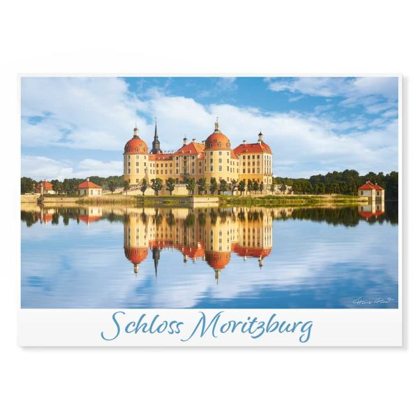 Moritzburg Postkarte cd002 Hans Fineart