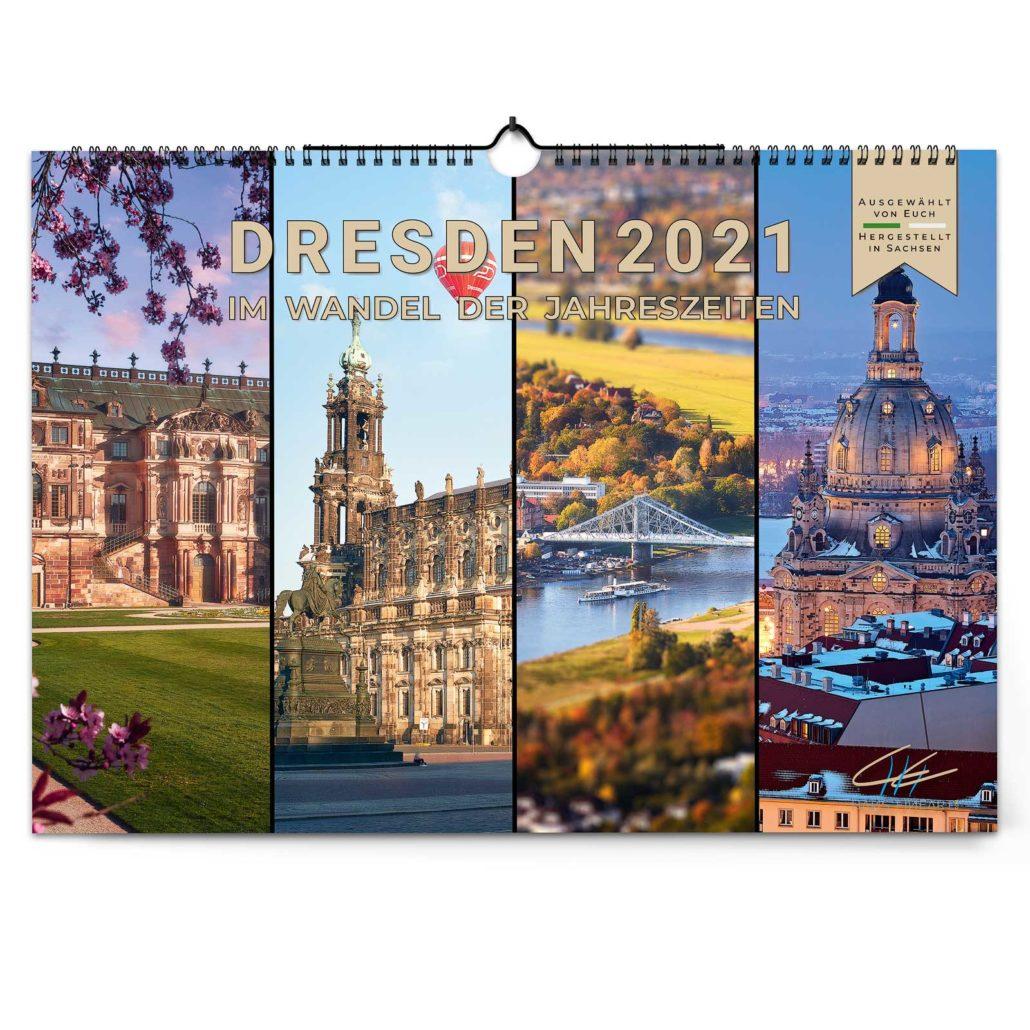 Dresden 2021 | Im Wandel der Jahreszeiten von Hans Fineart
