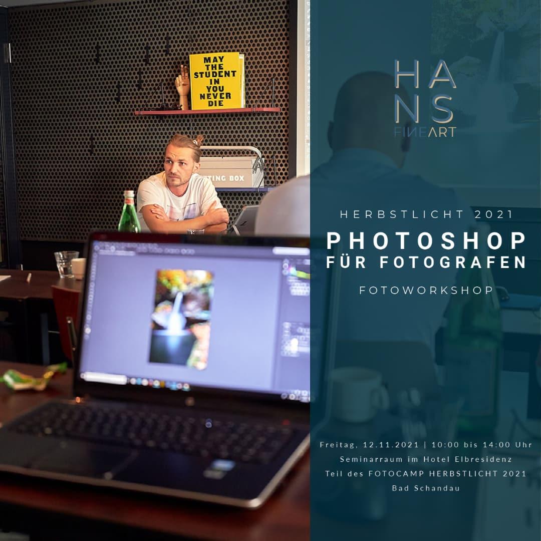 Seminar Photoshop für Fotografen mit Hans Fineart
