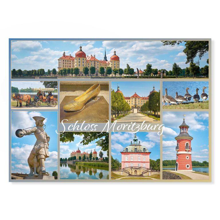 Moritzburg Postkarte Hans Fineart