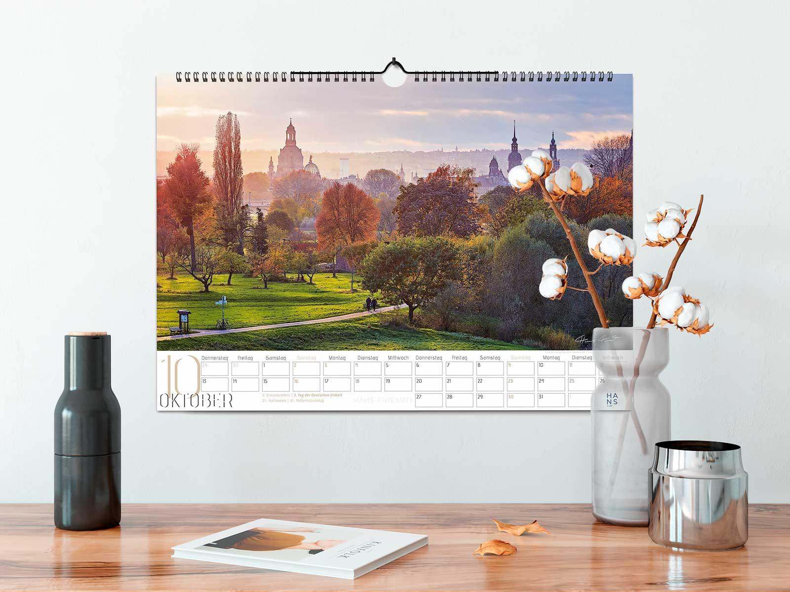 Kalender 2022 Hans Fineart